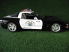 Corvette Highway Police Umbau in 1:18